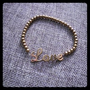 Jewelry - Stainless steel Love bracelet